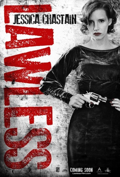 Character poster di Jessica Chastain in Lawless