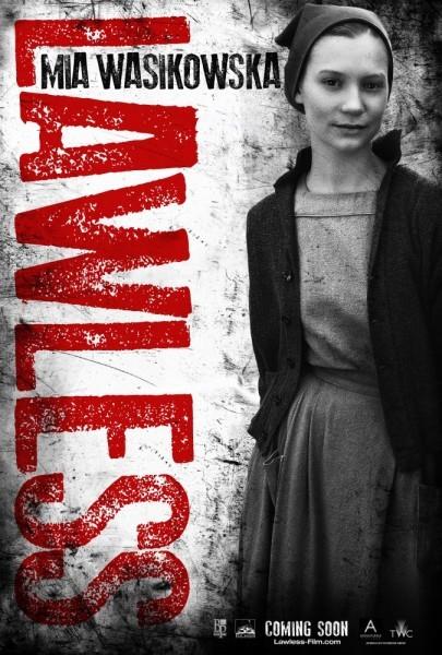 Character poster di Mia Wasikowska in Lawless
