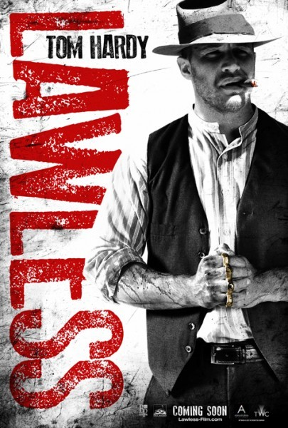 Character poster di Tom Hardy in Lawless