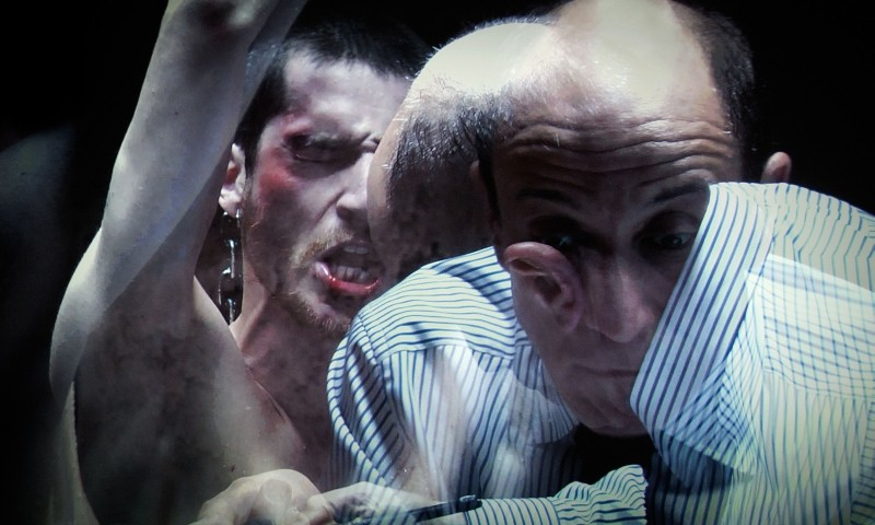Paura: Lorenzo Pedrotti e Peppe Servillo in una scena del film