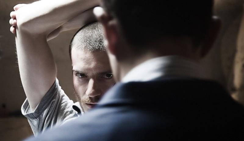 Paura: Lorenzo Pedrotti in un'immagine tratta dal film