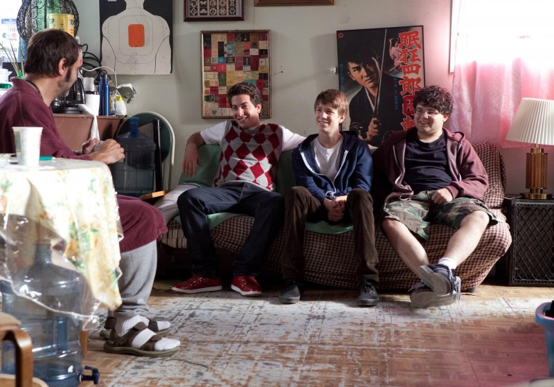 Project X: Oliver Cooper, Thomas Mann e Jonathan Daniel Brown in una scena del film
