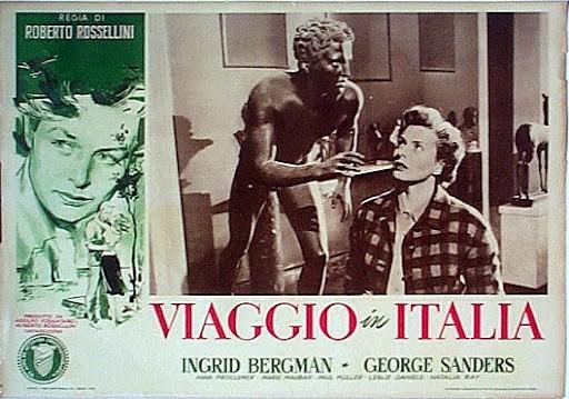 Viaggio in Italia: manifesto del film