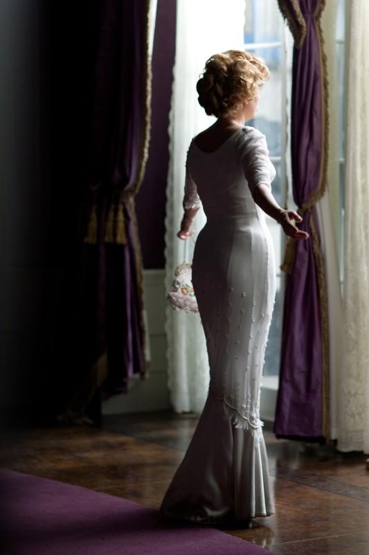 Marilyn: Michelle Williams di spalle in una scena del film