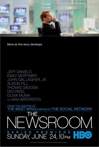 The Newsroom: ecco la locandina