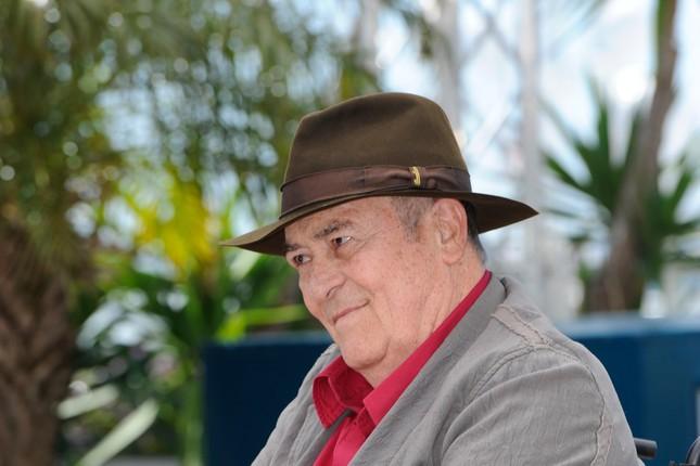 Bernardo Bertolucci a Cannes durante il photocall di Io e te