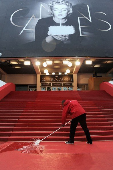 Cannes 2012: la pioggia allaga il red carpet