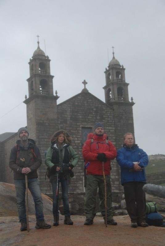Il cammino per Santiago: i protagonisti Martin Sheen, Deborah Kara Unger, James Nesbitt e Yorick van Wageningen