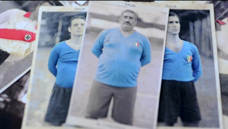 Il mundial dimenticato: alcune figurine dei giocatori della nazionale italiana di calcio inviata in Patagonia nel 1942