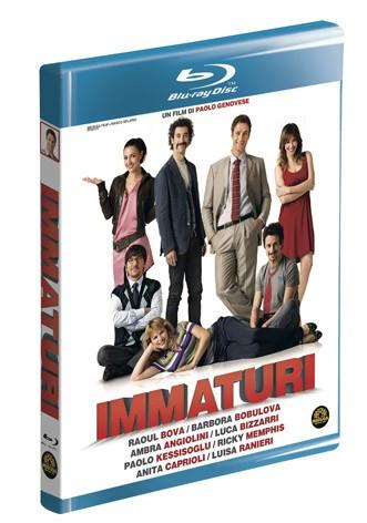 La copertina di Immaturi - Il viaggio (blu-ray)