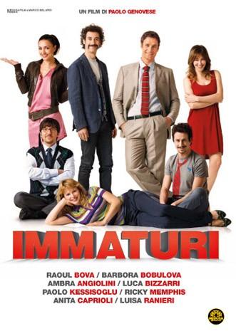 La copertina di Immaturi - Il viaggio (dvd)