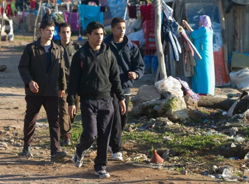 Les chevaux de Dieu: un'immagine tratta dal film che narra una storia di quattro fratelli marocchini