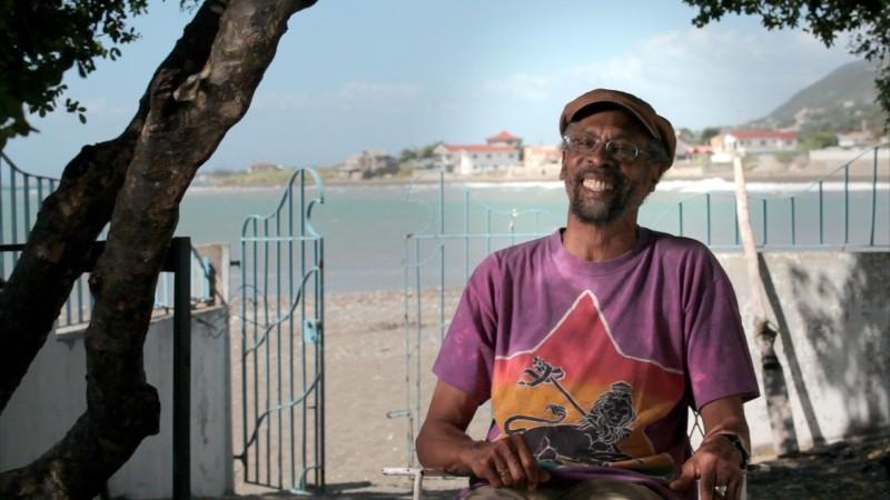 Marley: Bunny Livingston, un componente del gruppo The Wailers, parla di Bob in una scena del documentario