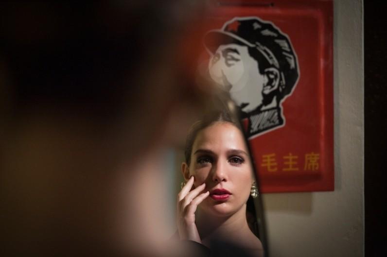 Qualche nuvola: Aylin Prandi in una scena del film