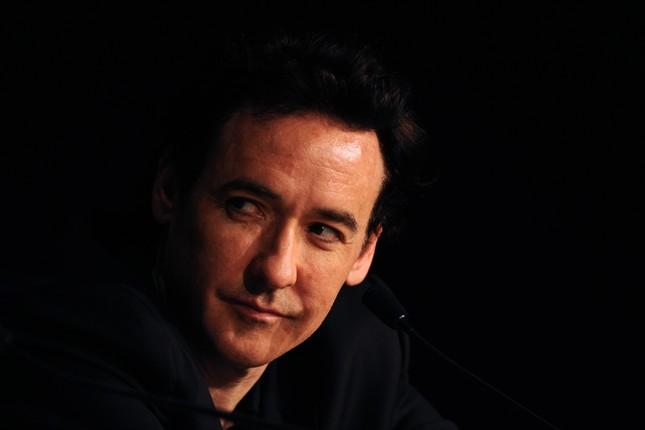 John Cusack a Cannes durante la conferenza stampa di The Paperboy