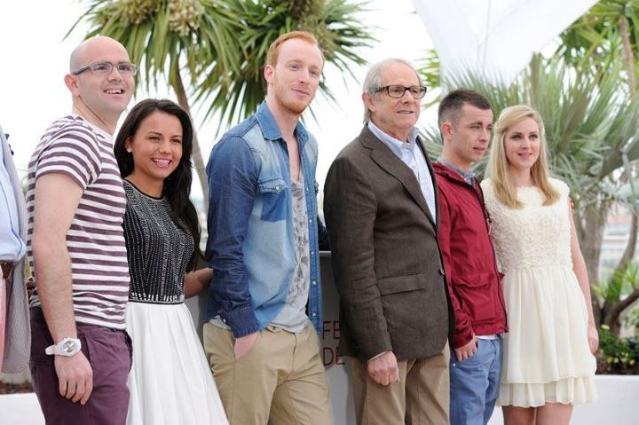 The Angels' Share: il cast del film insieme a Ken Loach durante il photocall di Cannes 2012