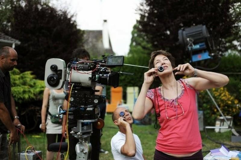 Adorabili amiche: Jane Birkin sul set del film