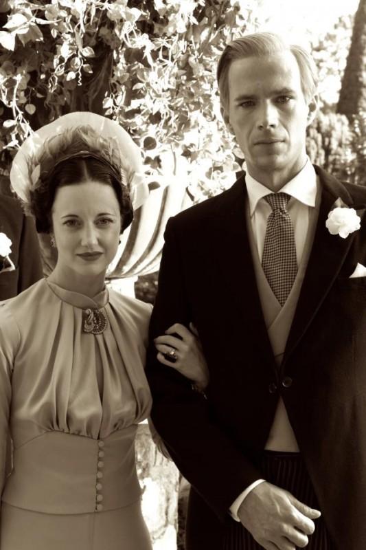 Edward e Wallis: James D'Arcy e Andrea Riseborough in una scena del film