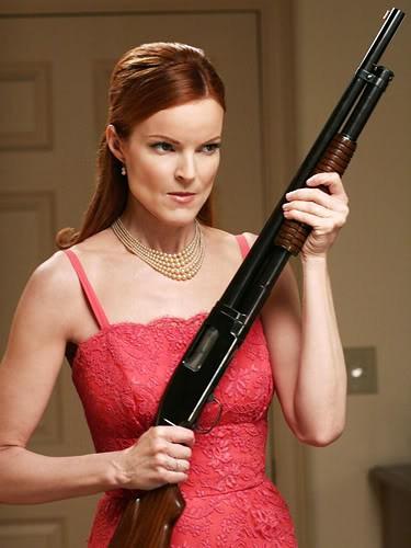 Marcia Cross è Bree Van De Kamp in Desperate Housewives