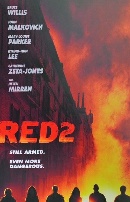 Red 2 : ecco il teaser poster del film