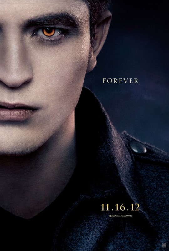 The Twilight Saga: Breaking Dawn - Parte 2: Robert Pattinson nel character poster di Edward