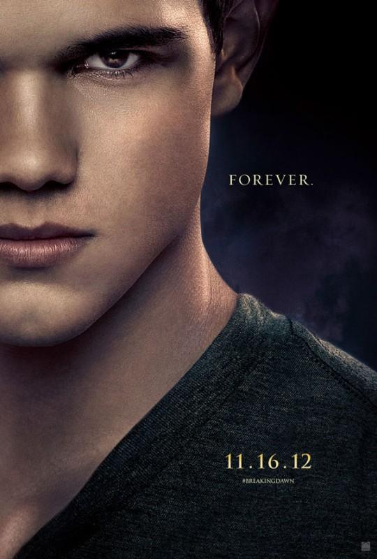 The Twilight Saga: Breaking Dawn - Parte 2: Taylor Lautner nel character poster di Jacob