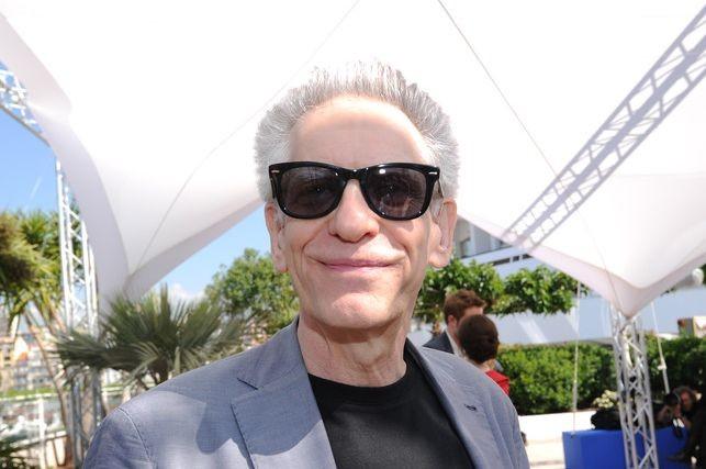 Un simpatico primo piano di David Cronenberg a Cannes