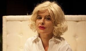 Agnese Nano interpreta Marilyn Monroe a teatro (2012)
