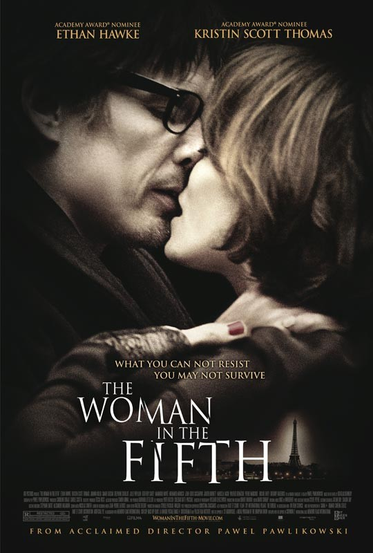 The Woman in the Fifth: nuova locandina