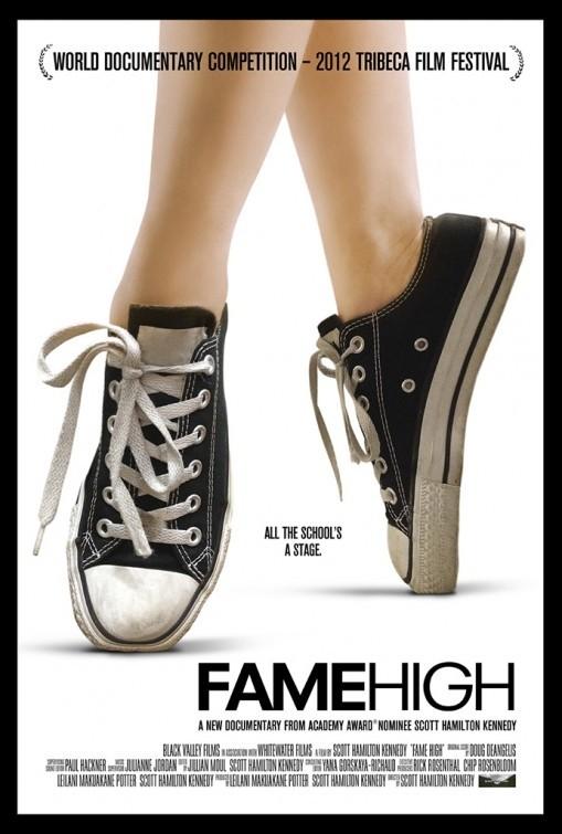 Fame High: la locandina del film