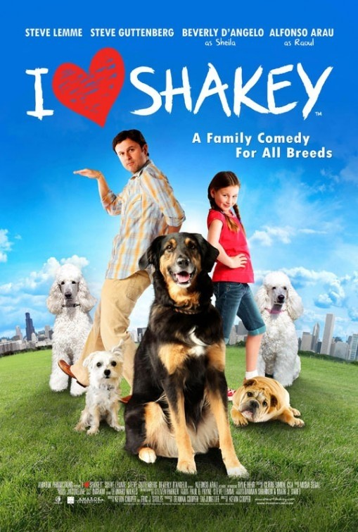 I Heart Shakey: la locandina del film