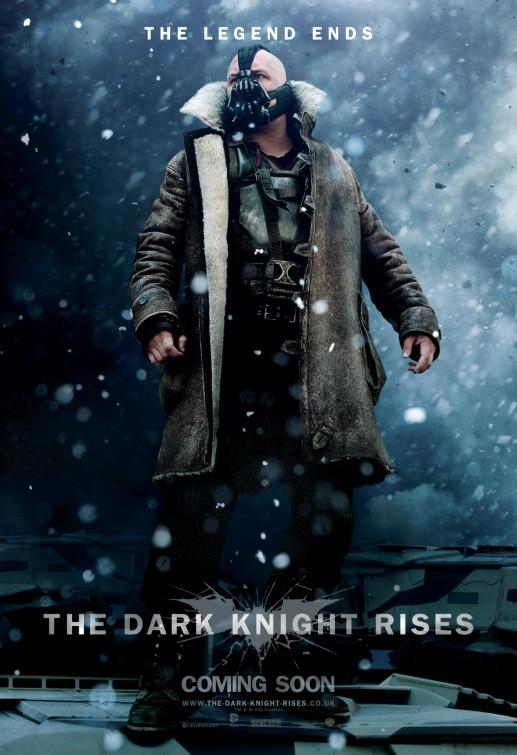 Il cavaliere oscuro - Il ritorno: Character Poster UK per Bane
