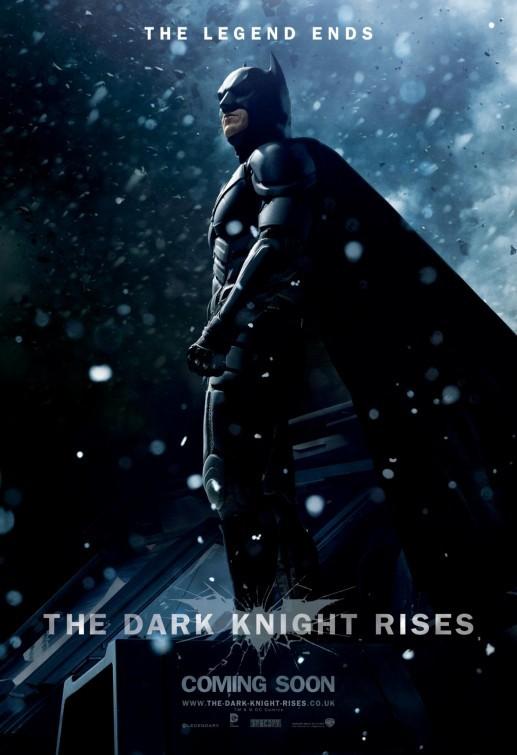 Il cavaliere oscuro - Il ritorno: Character Poster UK per Batman