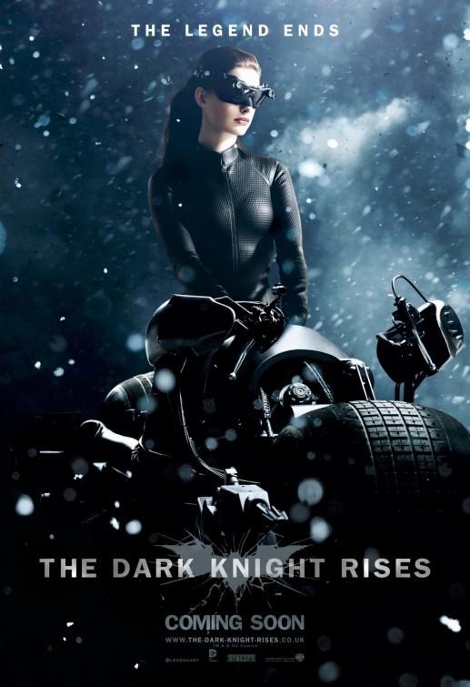 Il cavaliere oscuro - Il ritorno: Character Poster UK per Catwoman