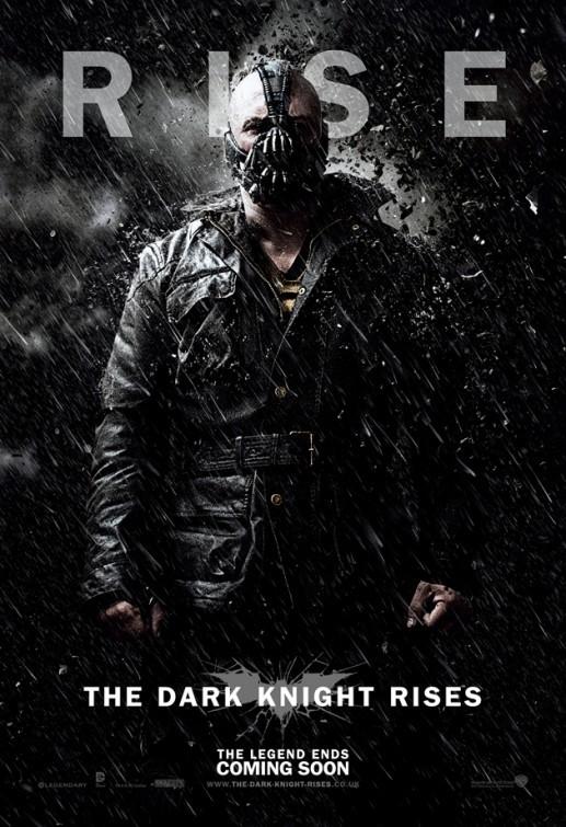 Il cavaliere oscuro - Il ritorno: Character Poster USA per Bane