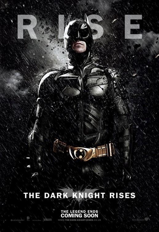 Il cavaliere oscuro - Il ritorno: Character Poster USA per Batman