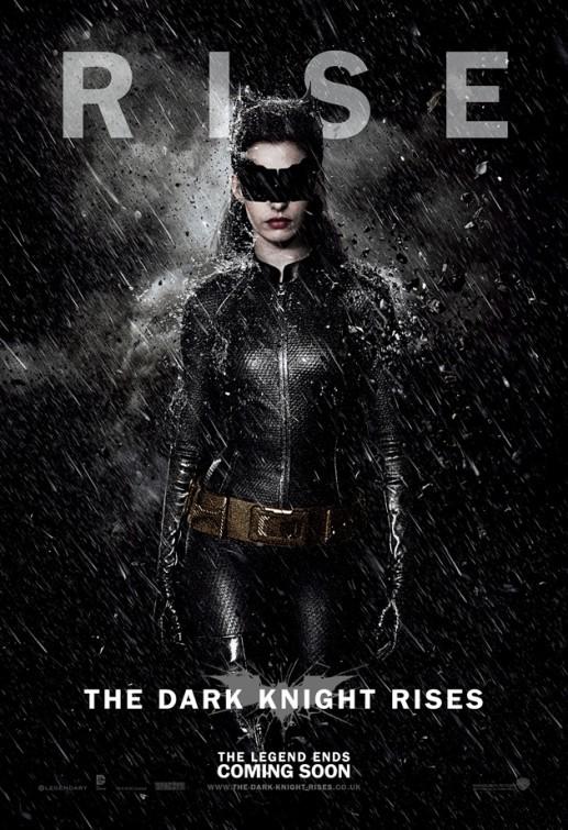 Il cavaliere oscuro - Il ritorno: Character Poster USA per Catwoman