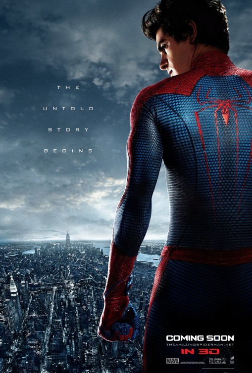 The Amazing Spider-Man: poster internazionale 2