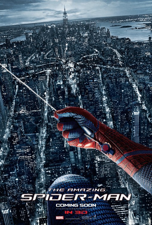 The Amazing Spider-Man: poster internazionale 3