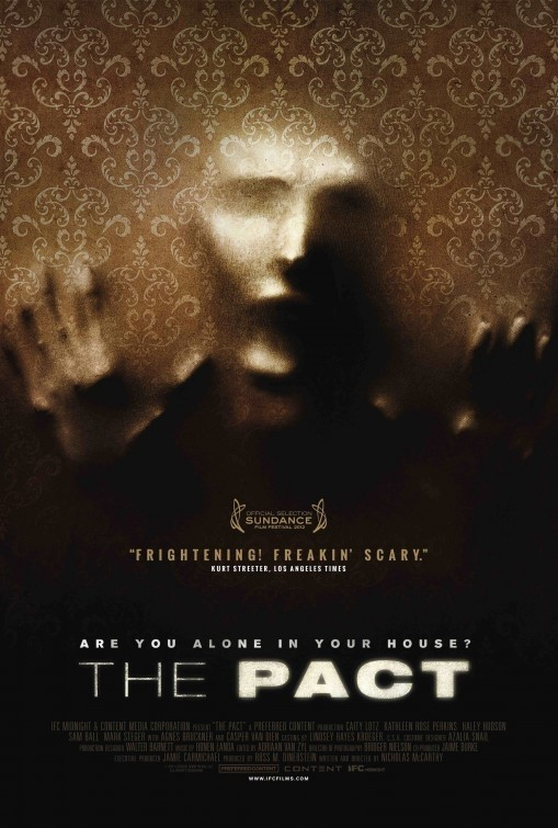 The Pact: la locandina del film