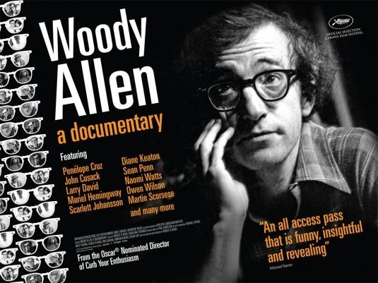 Woody Allen: A Documentary: la locandina del film