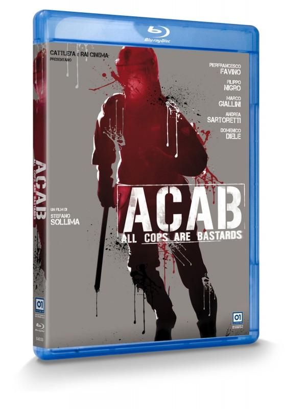 La copertina di A.C.A.B. (blu-ray)