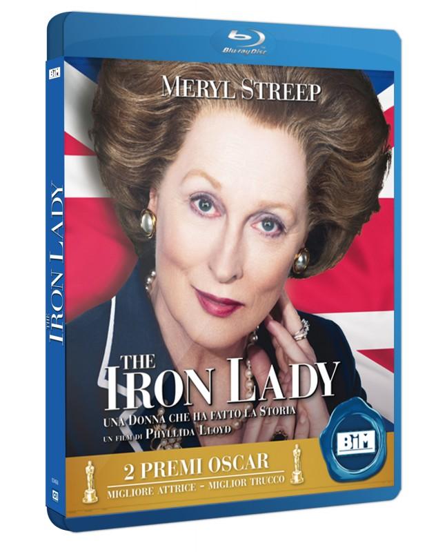 La copertina di The Iron Lady (blu-ray)