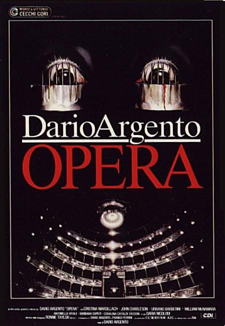 Locandina italiana del film Opera (1987)