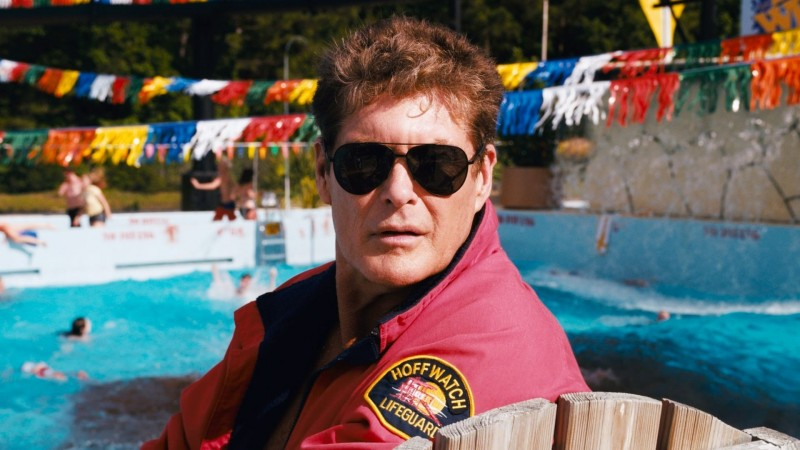 David Hasselhoff in Piranha 3DD