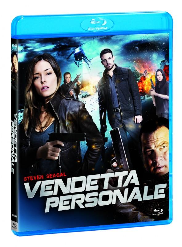 La copertina di Verndetta personale (blu-ray)