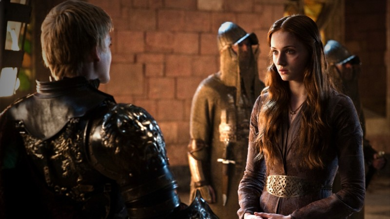 Game of Thrones: Sophie Turner e Jack Gleeson nell'episodio The Blackwater