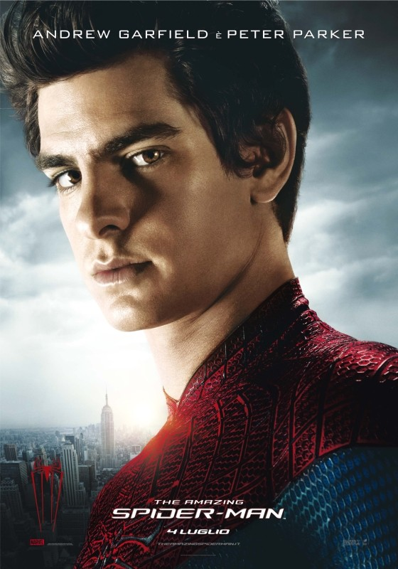 The Amazing Spider-Man: il character poster italiano di Peter Parker interpretato dal giovane Andrew Garfield