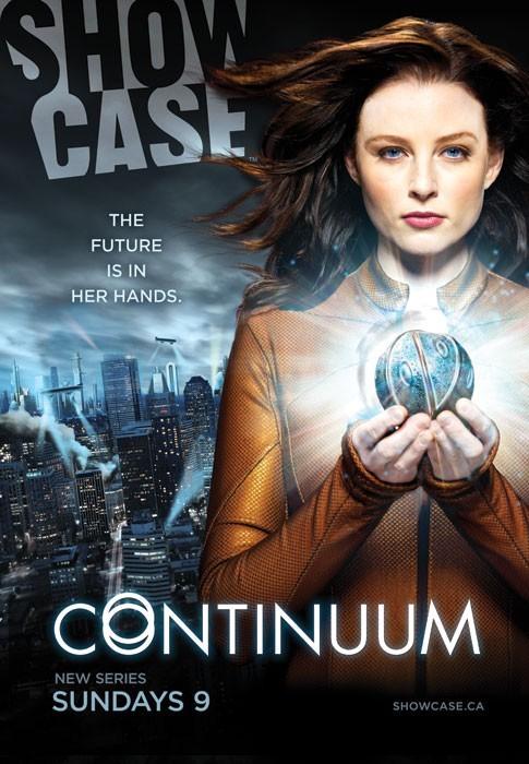 Continuum: uno dei poster della serie