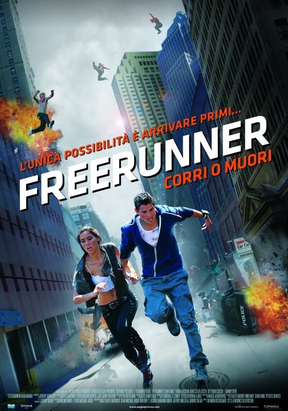 Freerunner - Corri o Muori: la locandina italiana del film